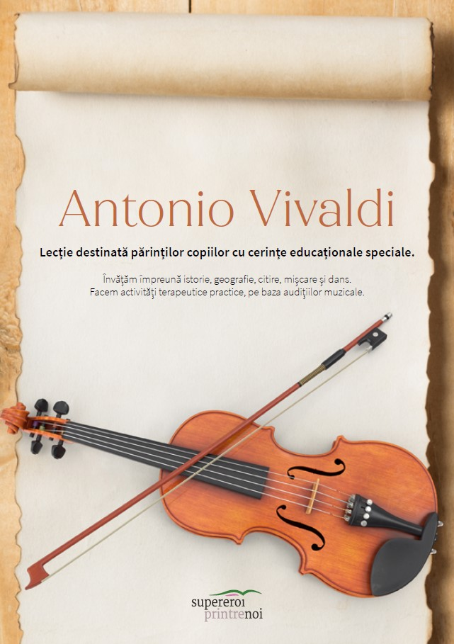 Lectie muzica adaptata Vivaldi Super Eroi printre Noi